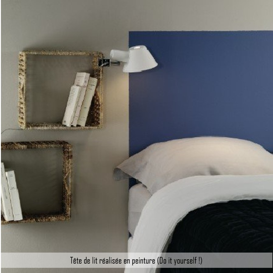 tête de lit peinture do it yourself diy