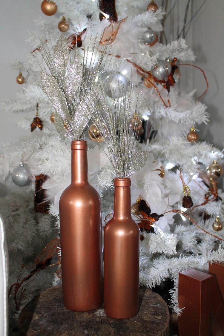 décoration noël blanc & cuivre by secrets déco décoratrice essonne paris 4