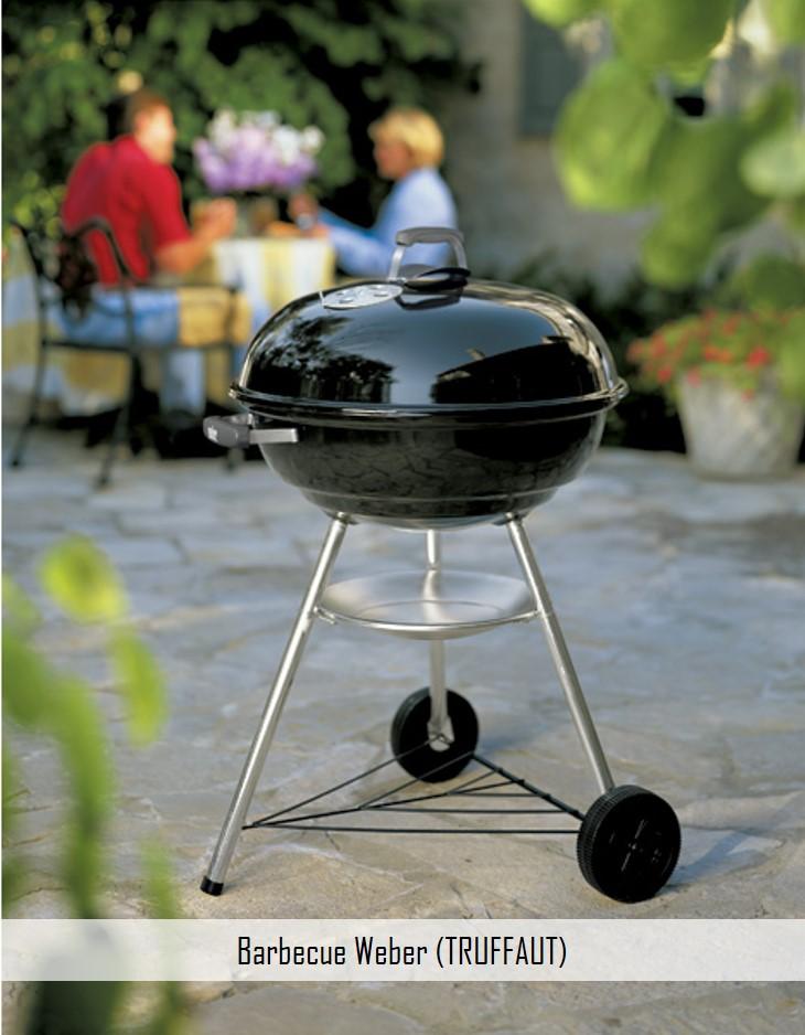 barbecue weber truffaut