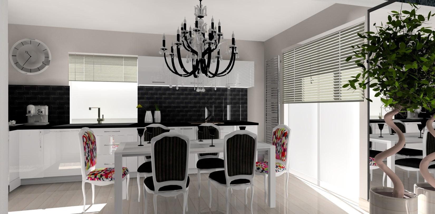 Décoration cuisine plan 3D
