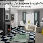 Home staging virtuel maison photo après