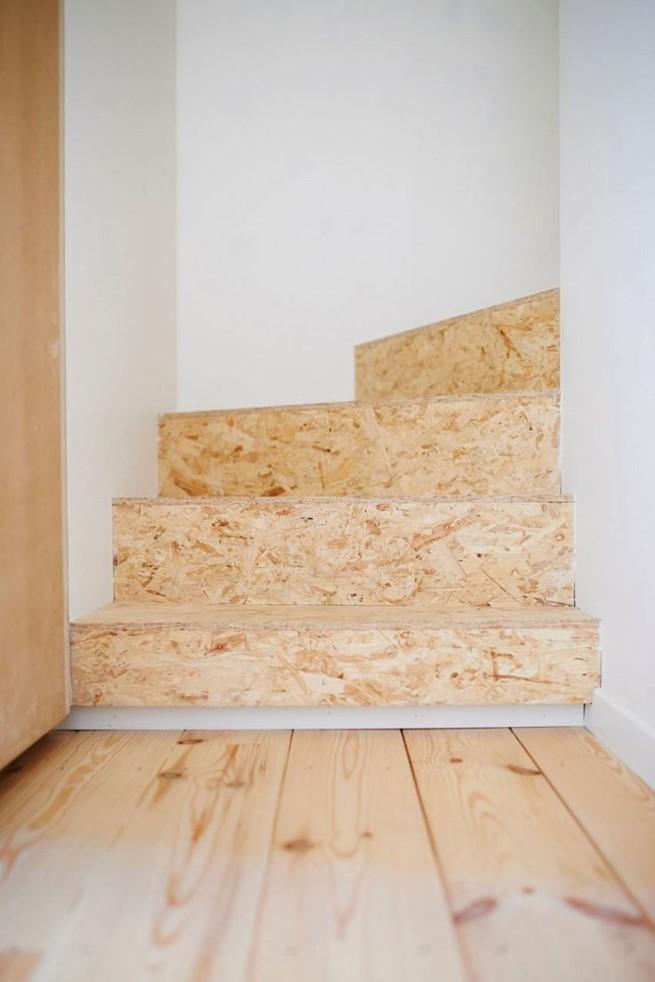 recouvrir escalier en osb