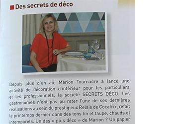 Article sur secrets d co dans vivre etr chy for Article de decoration interieur