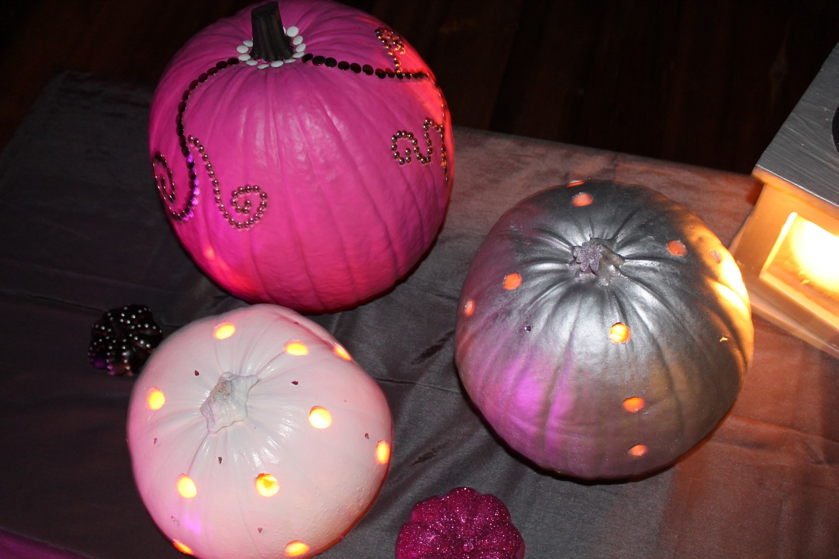 illuminer ses citrouilles halloween 2015