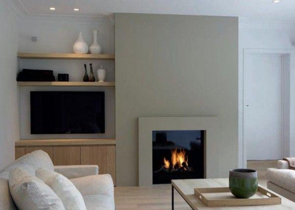 cheminée design