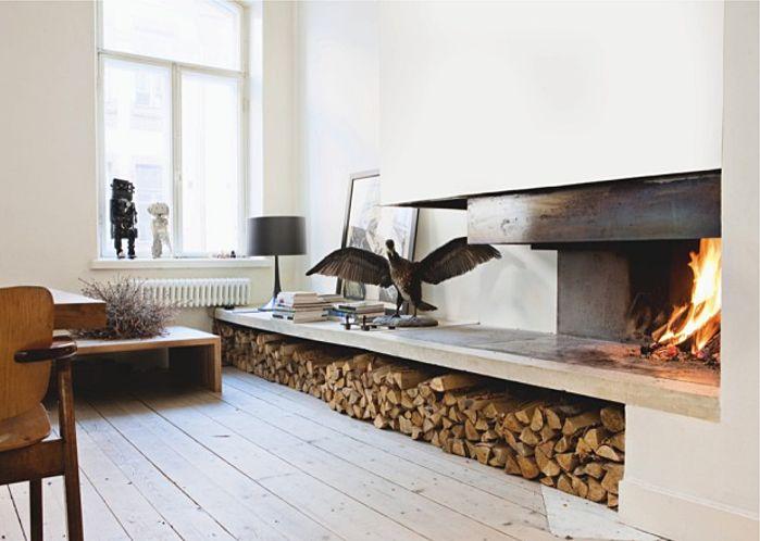 R novation archives d coration et architecture d for Rangement interieur bois de chauffage