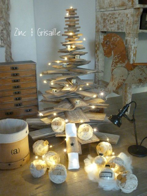 Sapin de no l original d coration et architecture d for Decoration de noel originale