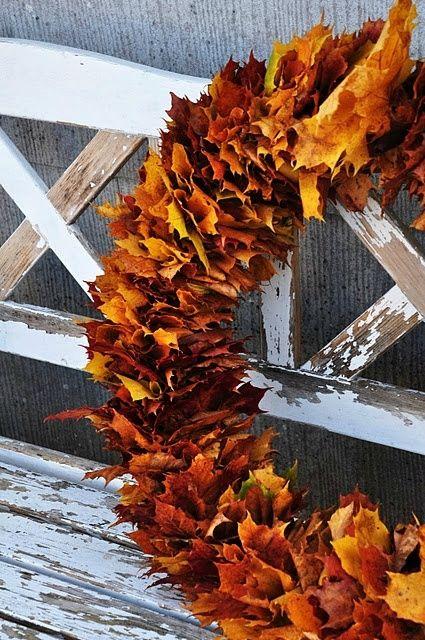 couronne de noël feuilles arbres