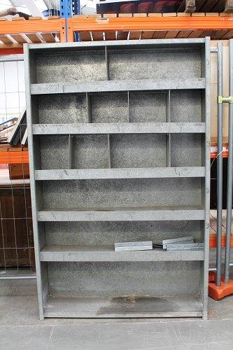 casier tri en zinc déco industrielle