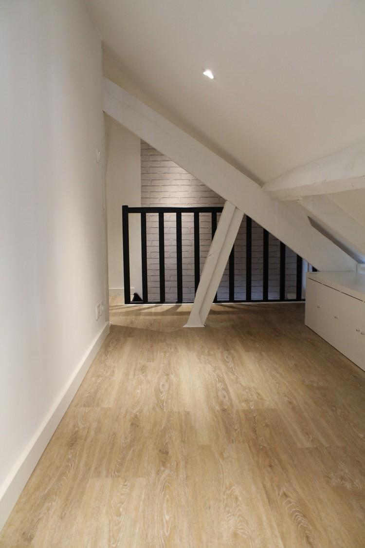 leroy merlin sol imitation parquet Lame PVC clipsable naturel effet bois Premium pour la mezzanine