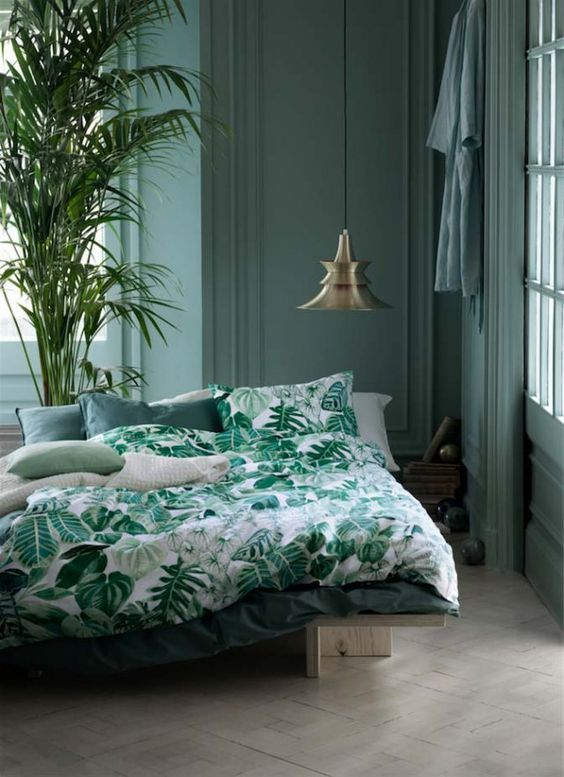 linge de lit urban jungle