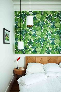 papier peint urban jungle chambre