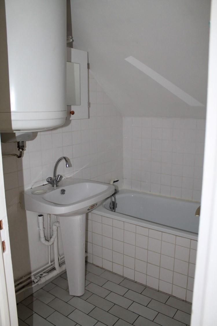 salle de bain appartement avant travaux de rénovation