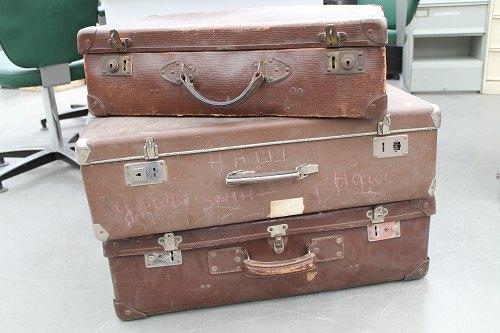vieilles valises déco vintage