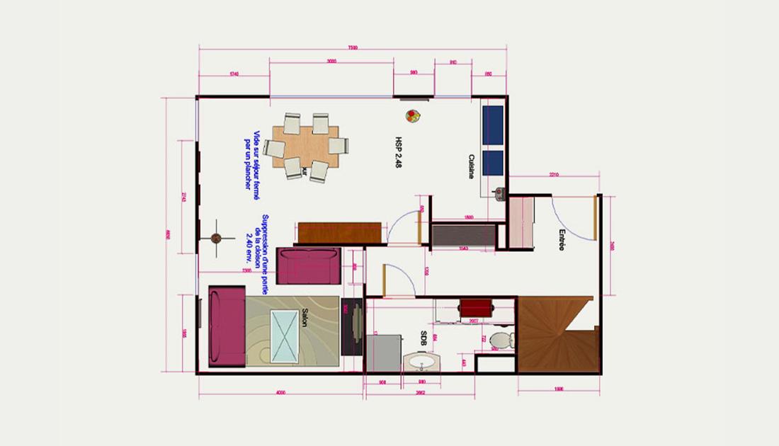 plans 2d et mod lisation secrets d co d coratrice d 39 int rieur. Black Bedroom Furniture Sets. Home Design Ideas