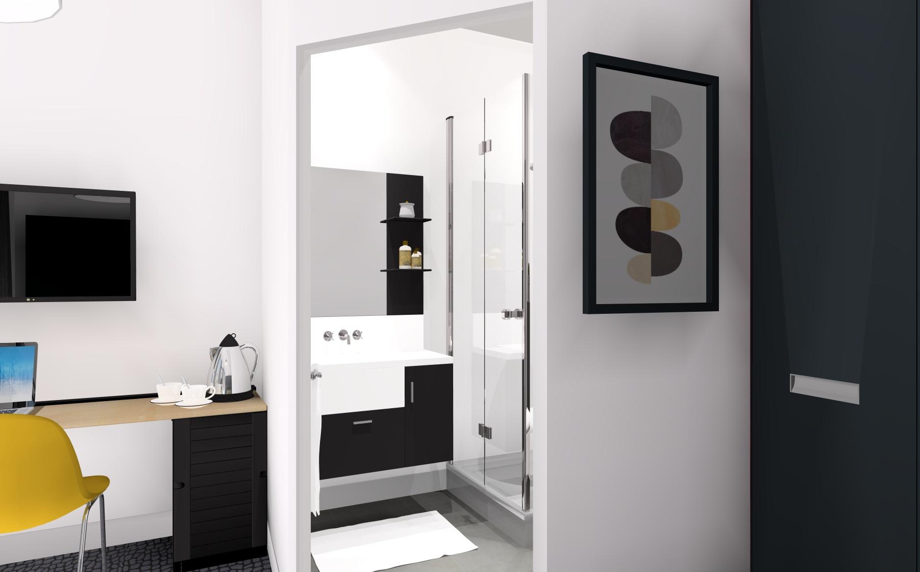 Architectes et d coratrices pour vos simulations 3d pensez la sous traitance - Plan 3d salle de bain ...