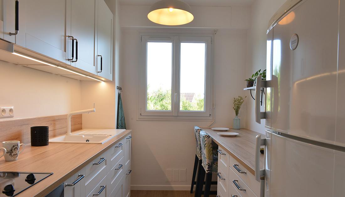 Am nagement r novation d 39 une cuisine arpajon 91 - Renovation cuisine professionnelle ...