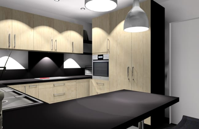 simulation-3d-cuisine-noire-et-bois